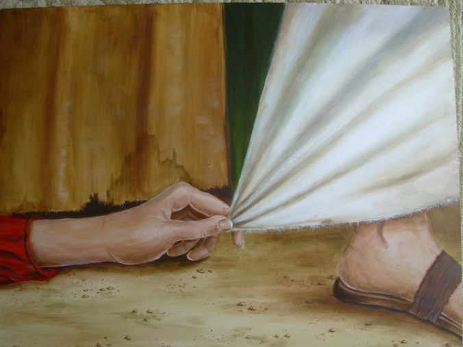 "Image courtesy of: Hem of his garment, ""Faith that Touches"" sermon at http://icdpentecostal.org"